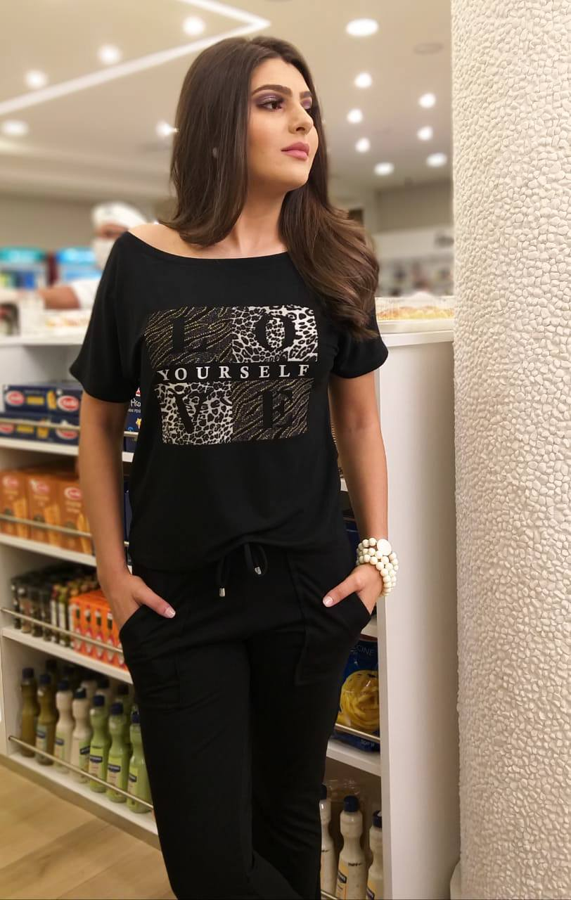 Blusa Yourself ref. 148