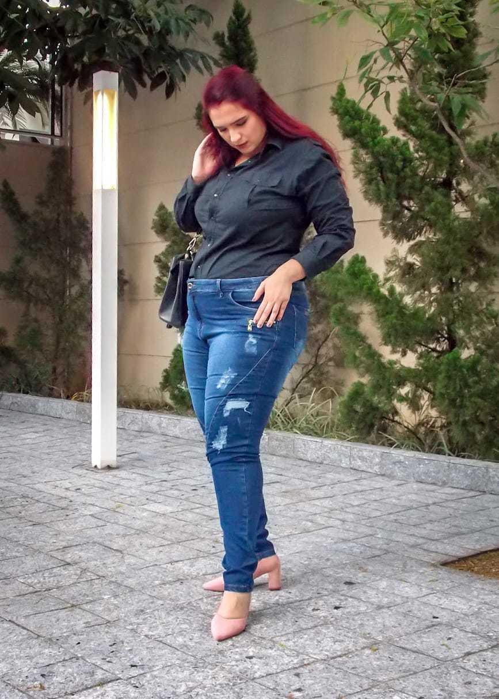 Calça Dinho's Jeans Skinny Kris ref. 2516