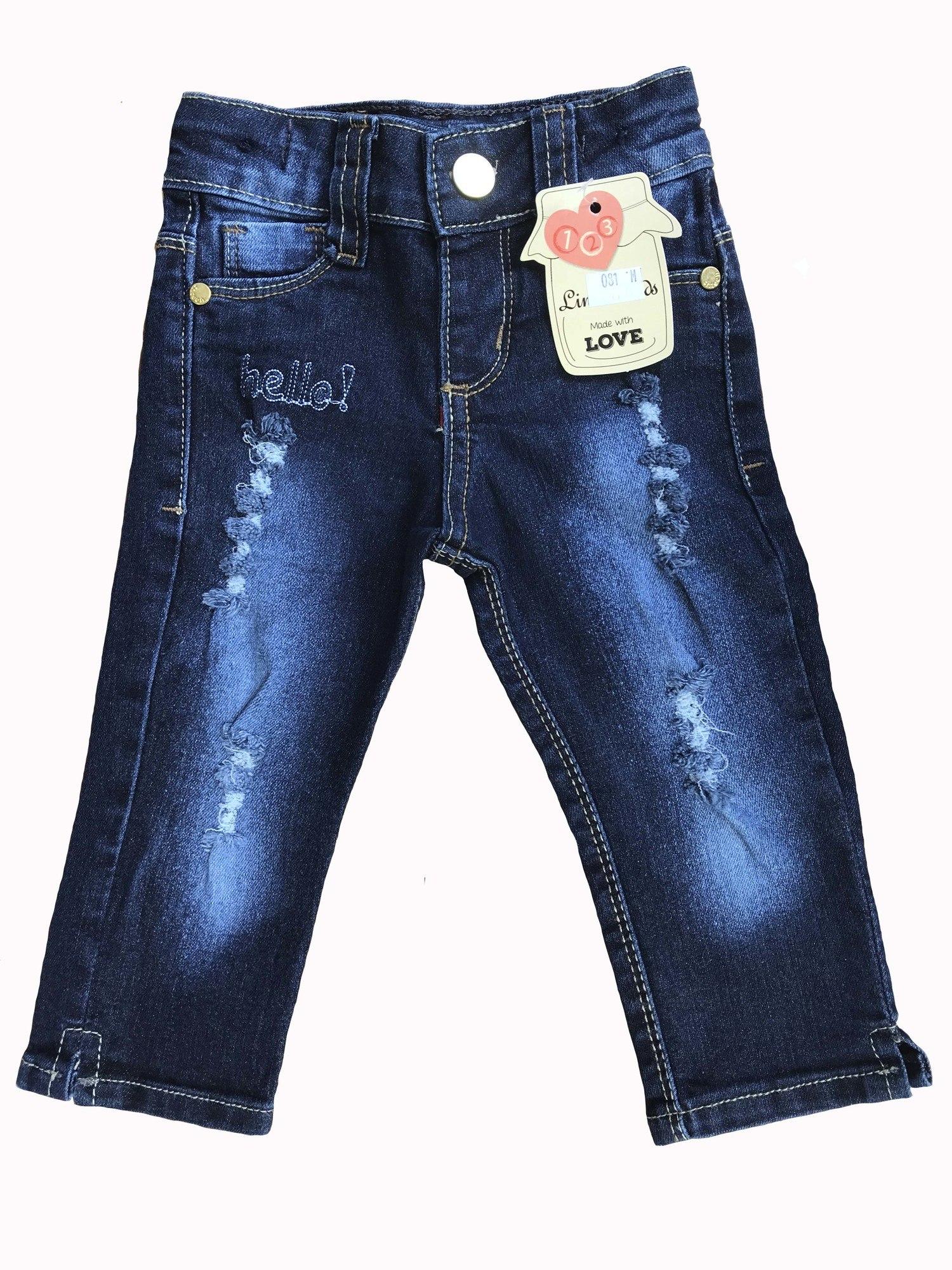 Calça Jeans Bebê Menina [081]