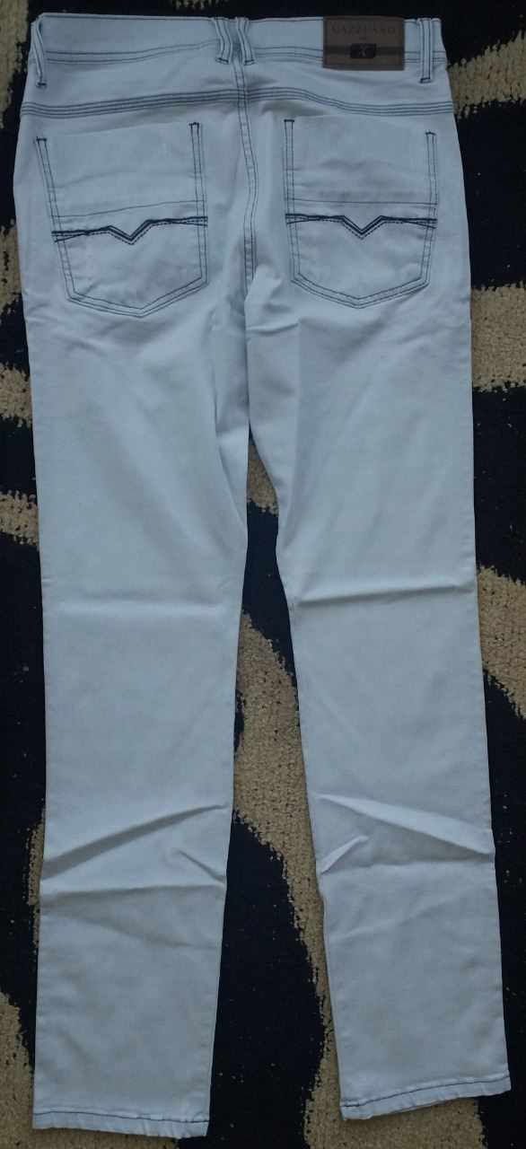 Calça Jeans Cazzuano Colbie - Branca