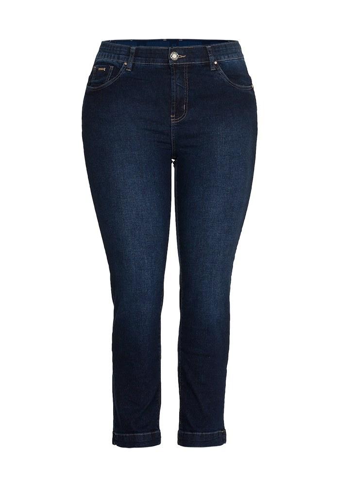 Calça Jeans Cigarrete Feminina Fact Jeans - Plus Size Ref. 04116