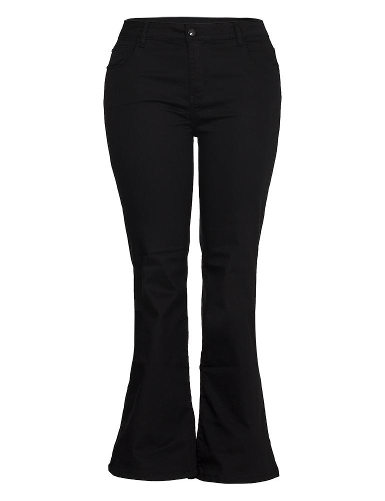 Calça Jeans Flare Feminina Fact Jeans - Plus Size Ref. 04135