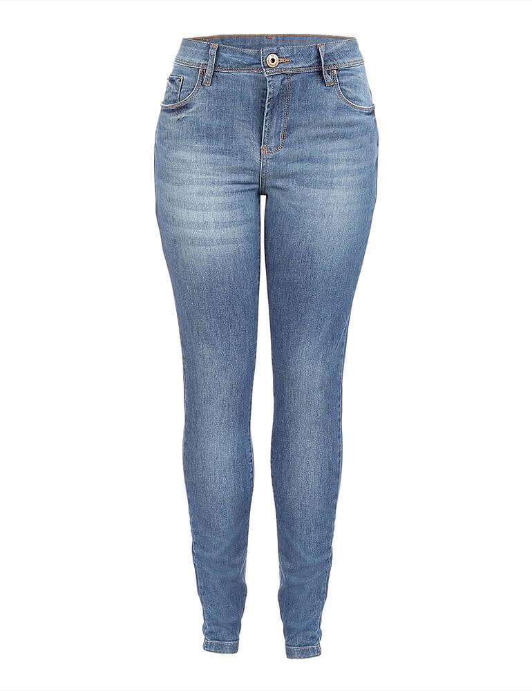Calça Jeans Skinny Feminina Fact Jeans ref. 03682