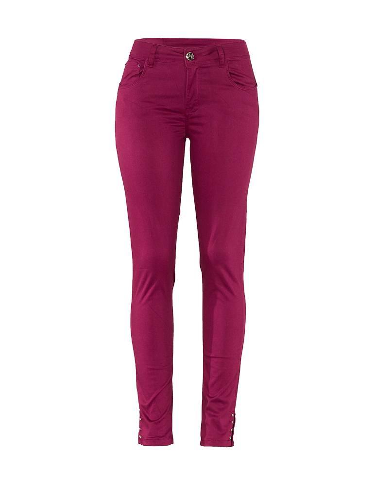Calça Jeans Skinny Feminina Fact Jeans - Azul Marinho Ref. 03688