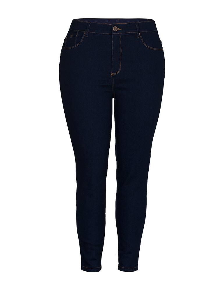 Calça Jeans Skinny Feminina Fact Jeans - Plus Size Ref. 04139