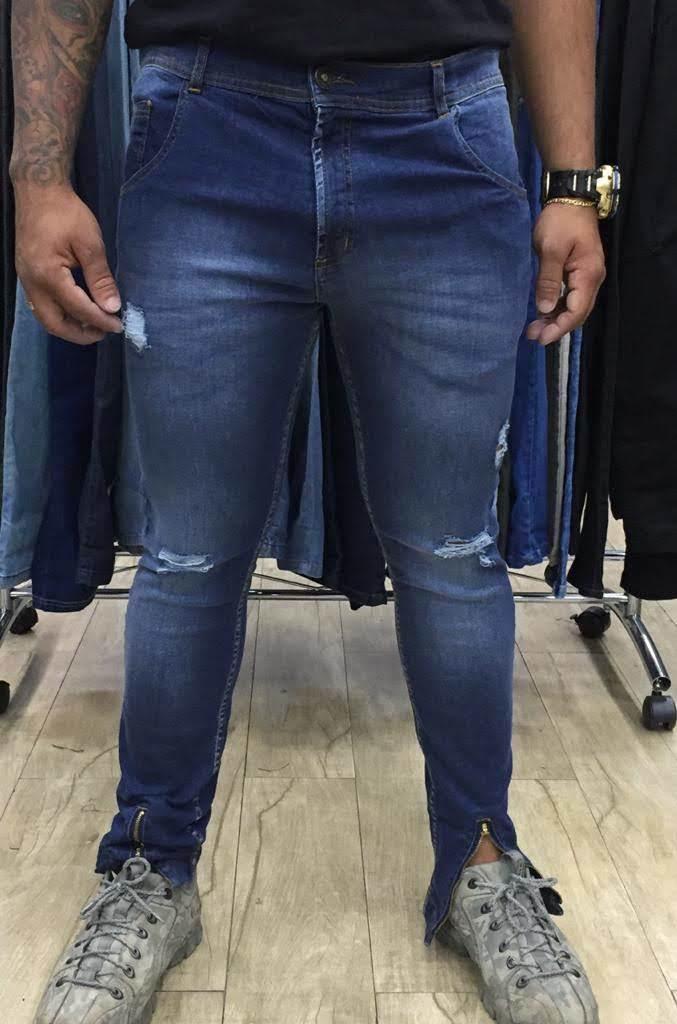 Calça Jeans Skinny Masculina (6072)
