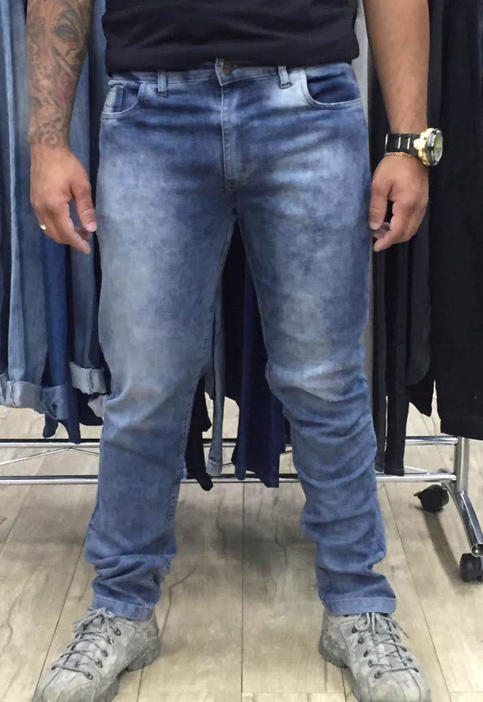 Calça Jeans Slim Masculina (6084)