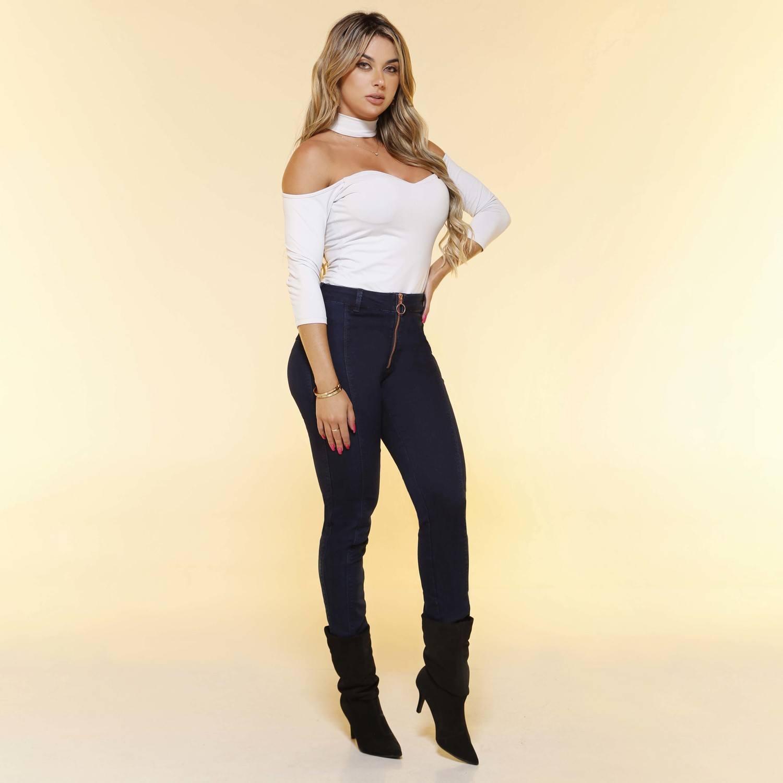 Calça Skinny Feminina Fact Jeans ref. 04447
