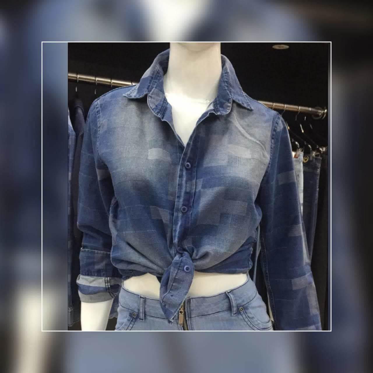 Camisa  Feminina Jeans (2002)