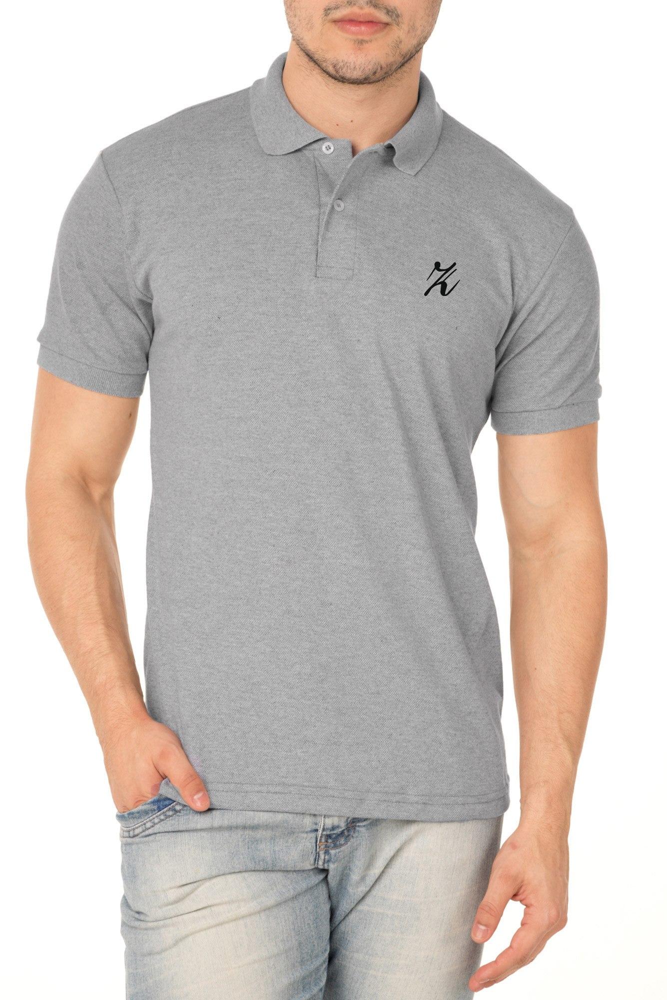 Camisa Polo P.A. Cinza