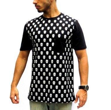T-shirt Rock Skull Edmoury