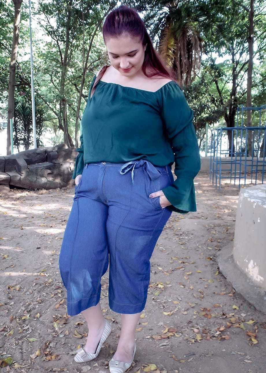 Pantacourt Dinho's Jeans Freed com Cinto (2600)