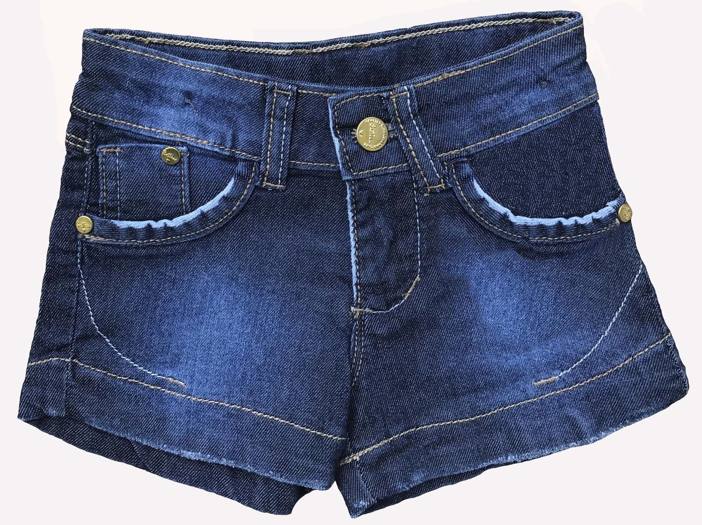 Shorts Feminino Jeans Bebê [301]