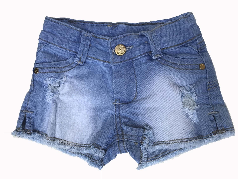 Shorts Jeans Bebê Menina [311]