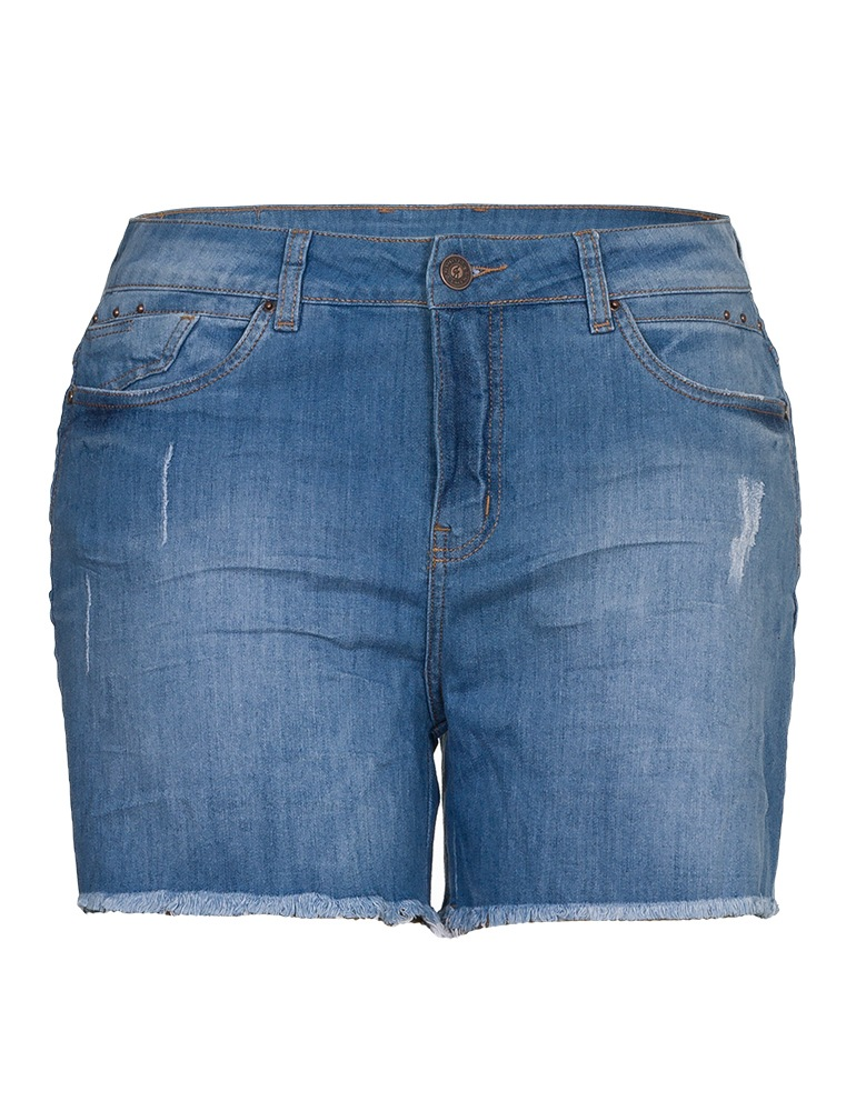 Shorts Jeans Fact Jeans - Plus Size Ref. 03949