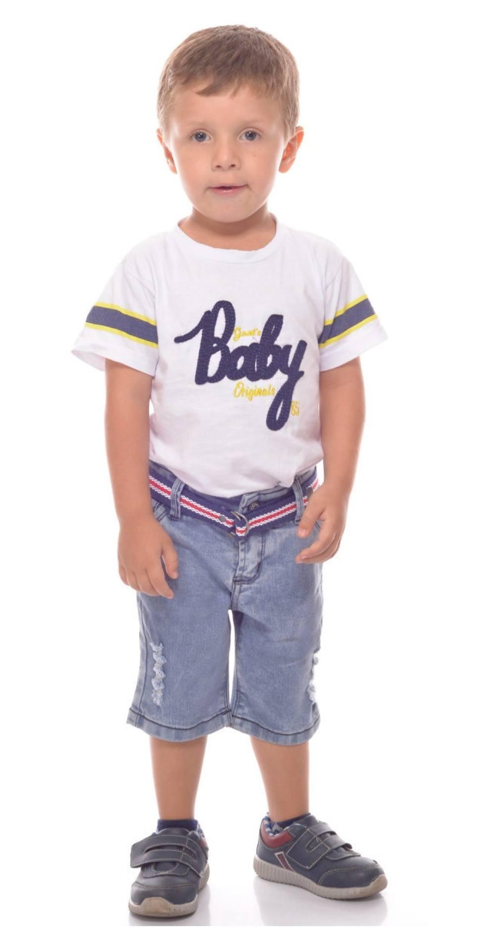 Short Masculino Infantil Jeans [893]