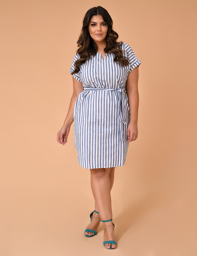 Vestido Malha Fact Jeans - Plus Size Ref. 04164