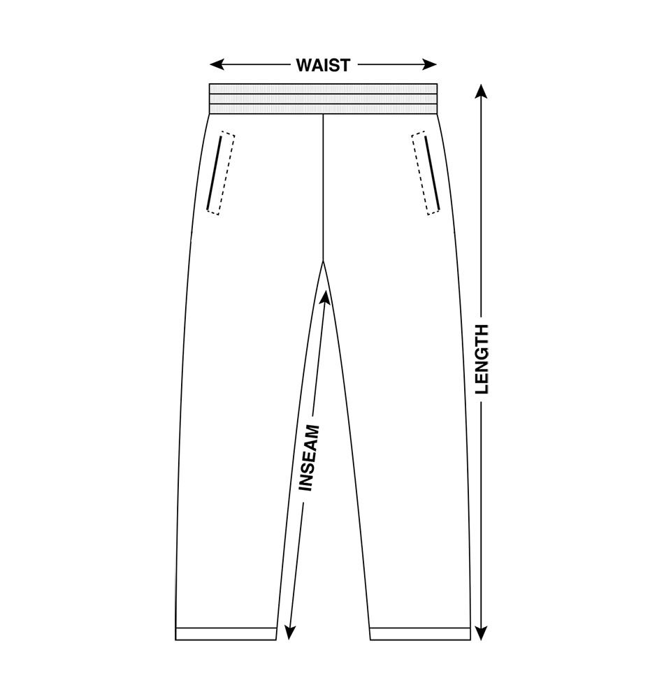 Pants Measurements