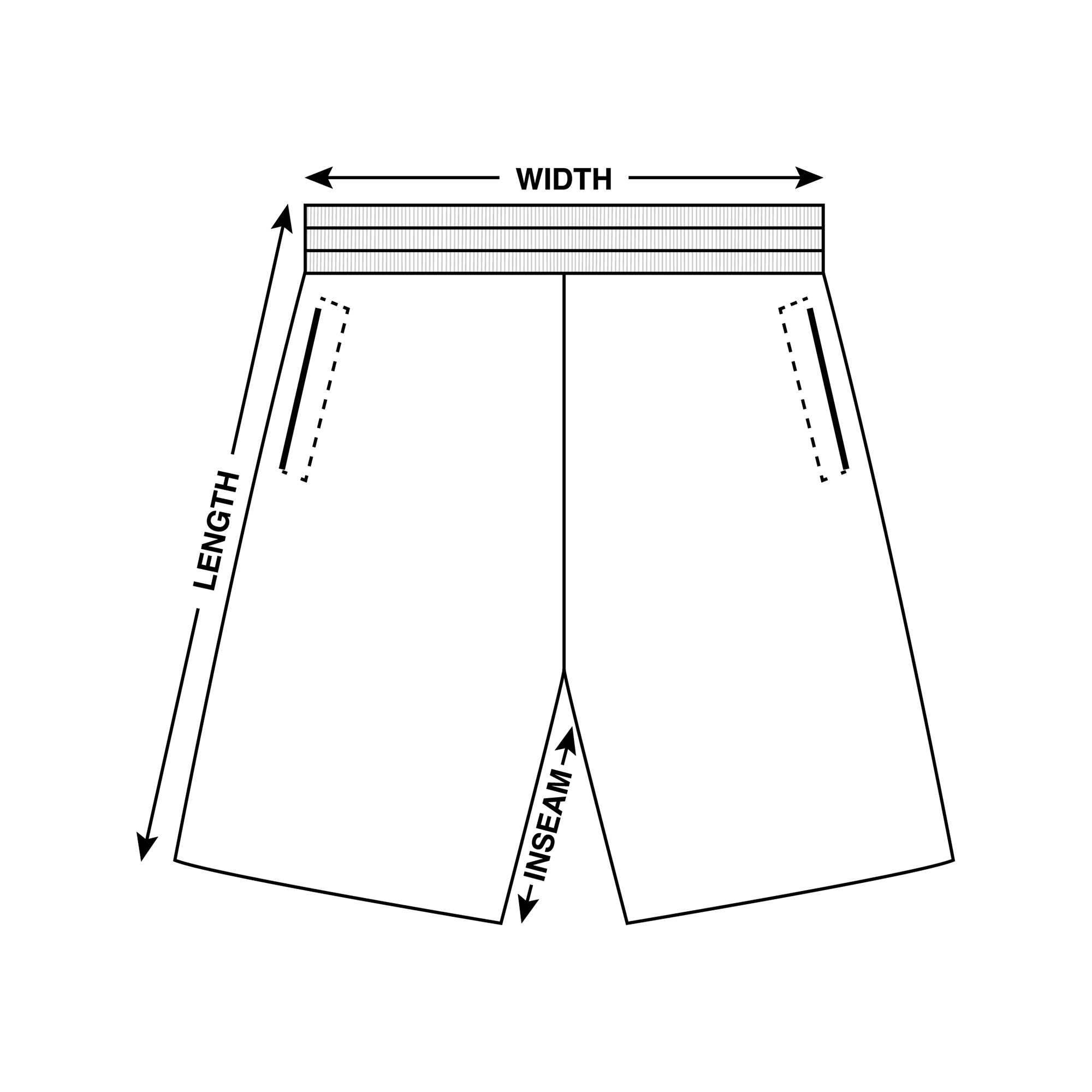 Shorts Measurements