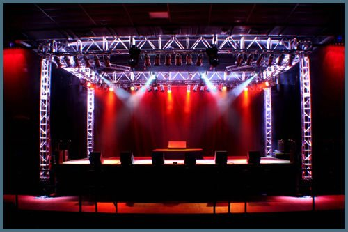 Stage lighting rentals outdoor stage lighting aloadofball Images
