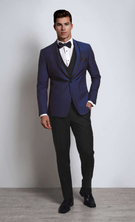 Johnny Wilde Blue Tux