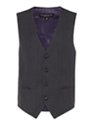 Michael Kors Charcoal Suit Vest