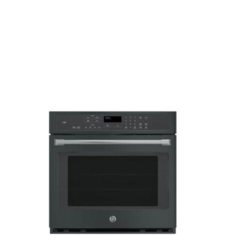 black slate single wall ovens