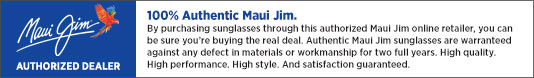 Maui Jim Dealer Badge