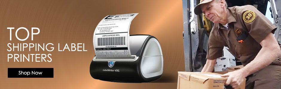 top shipping label printers banner