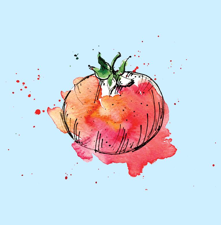 DePalma's Tomato Logo