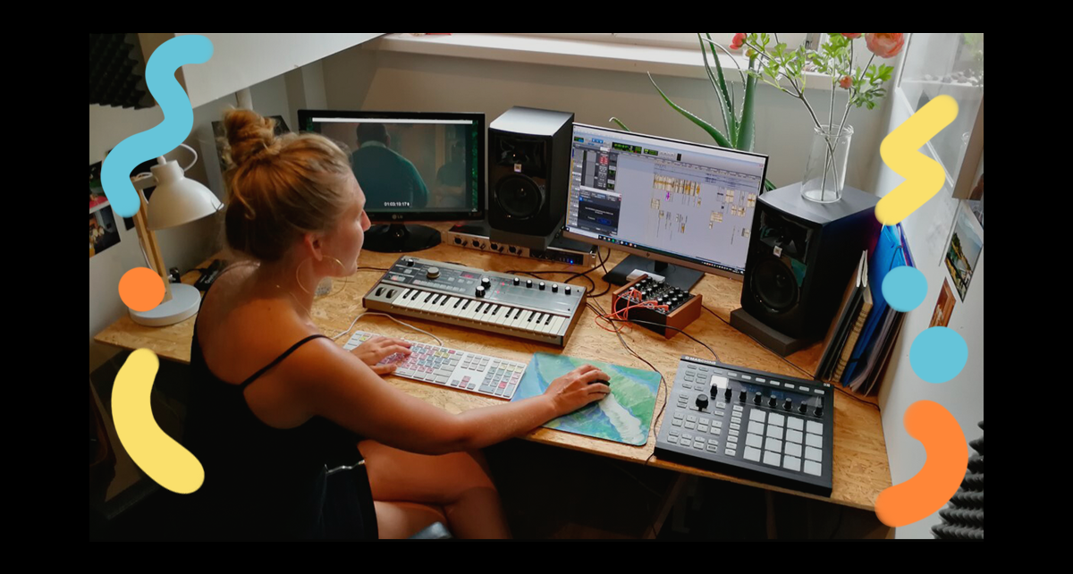 A studio of one's own: Women in music production