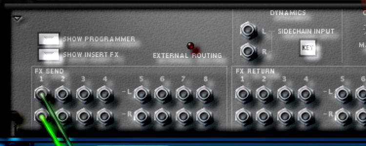 Routing Effects Returns to Their Own Mix Channel