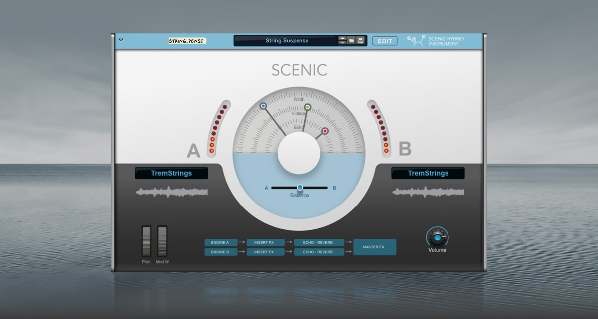 A first look at Scenic – your new cinematic dream instrument
