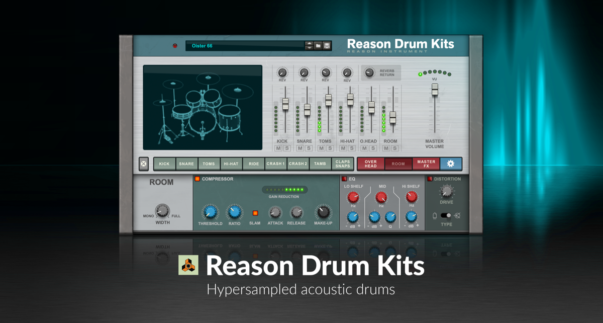 The return of Reason Drum Kits