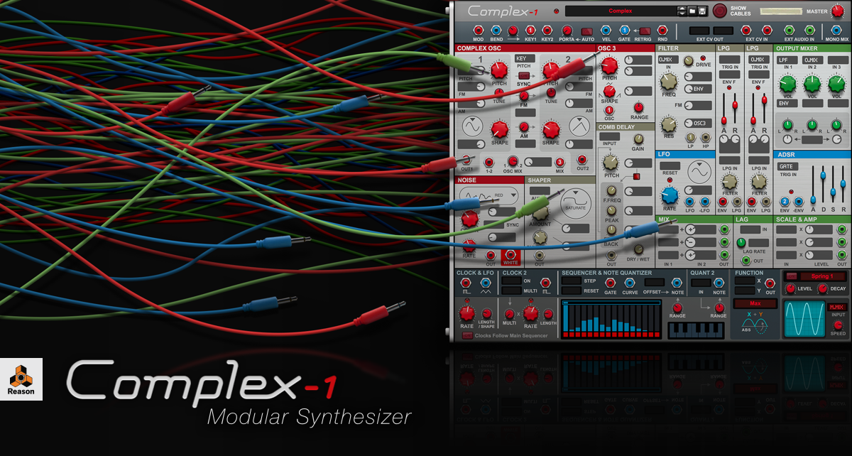 Introducing Complex-1 Modular Synthesizer
