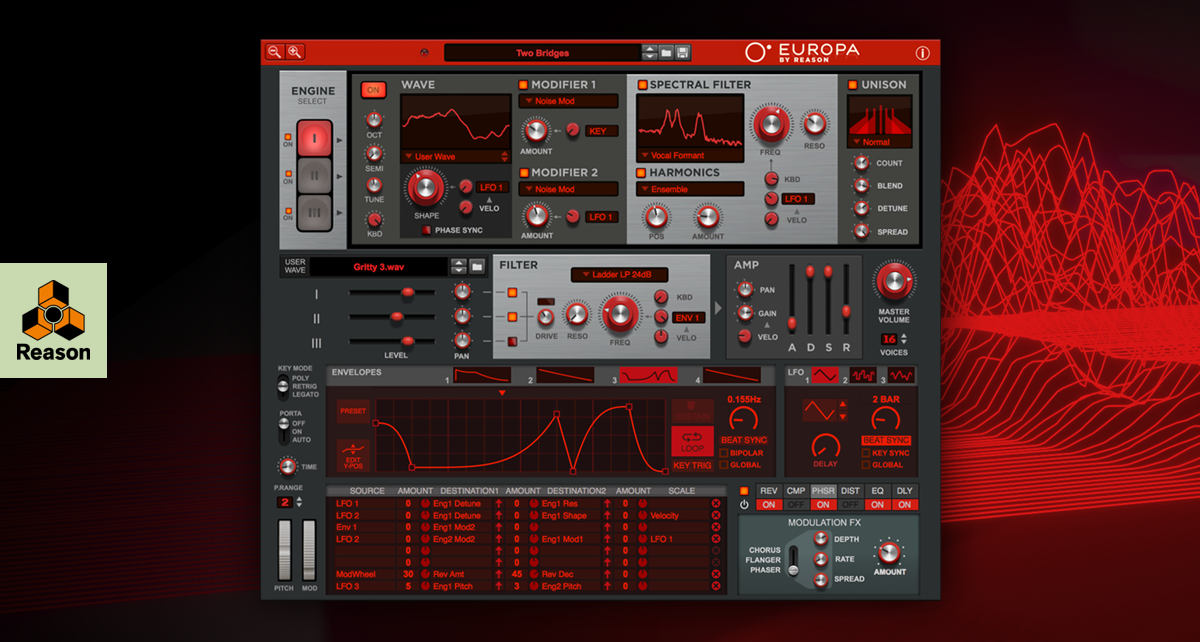 Europa by Reason VST/AU plugin is here