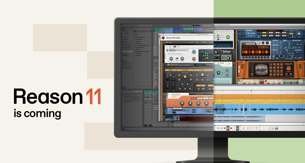 Make more music and sound amazing with Reason from Propellerhead