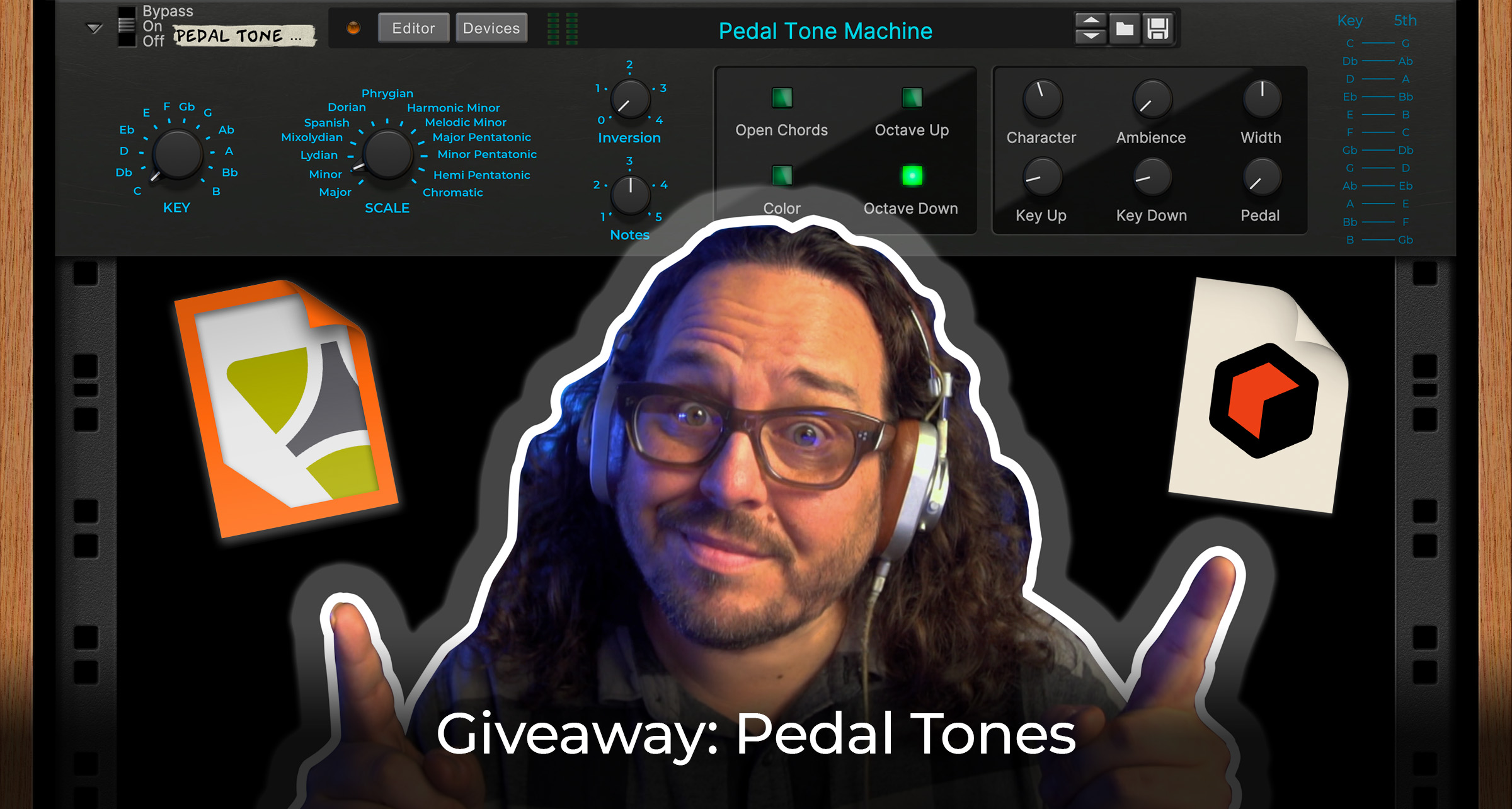 Friday Giveaway - Pedal Tones Combinator