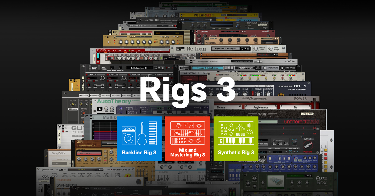 Rigs 3 are here