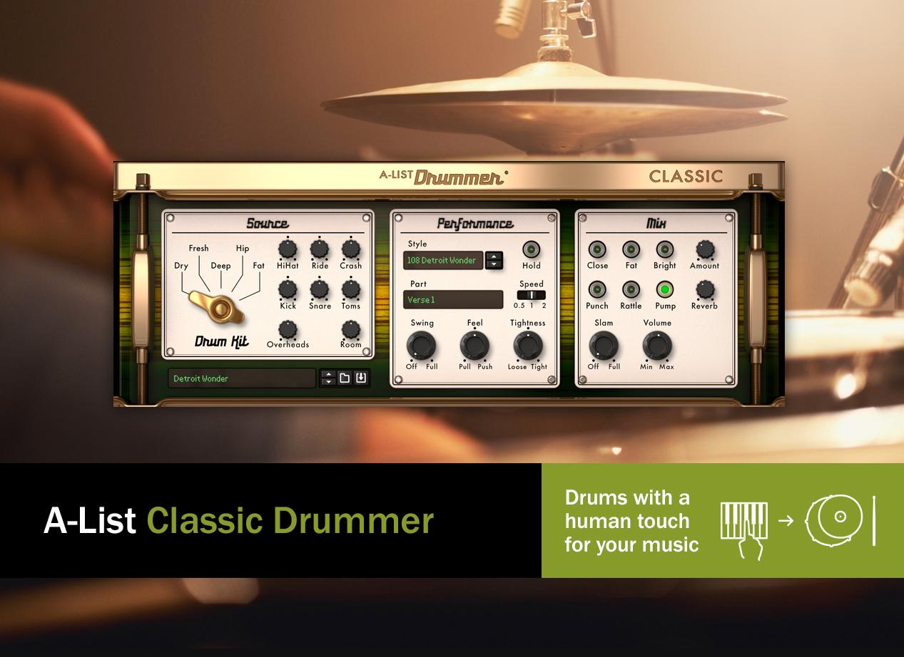 A-list Classic drummer - main image