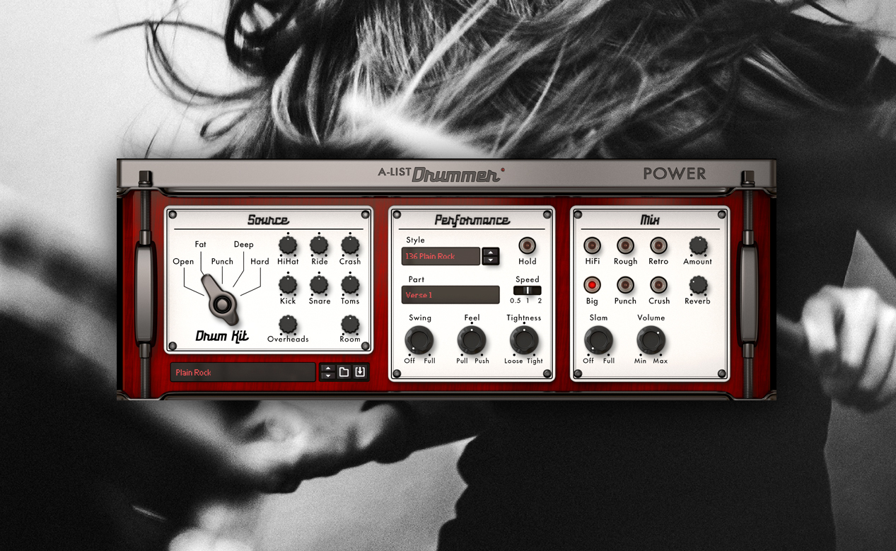 Propellerhead Expands A-List Series with Classic Drummer and Power Drummer