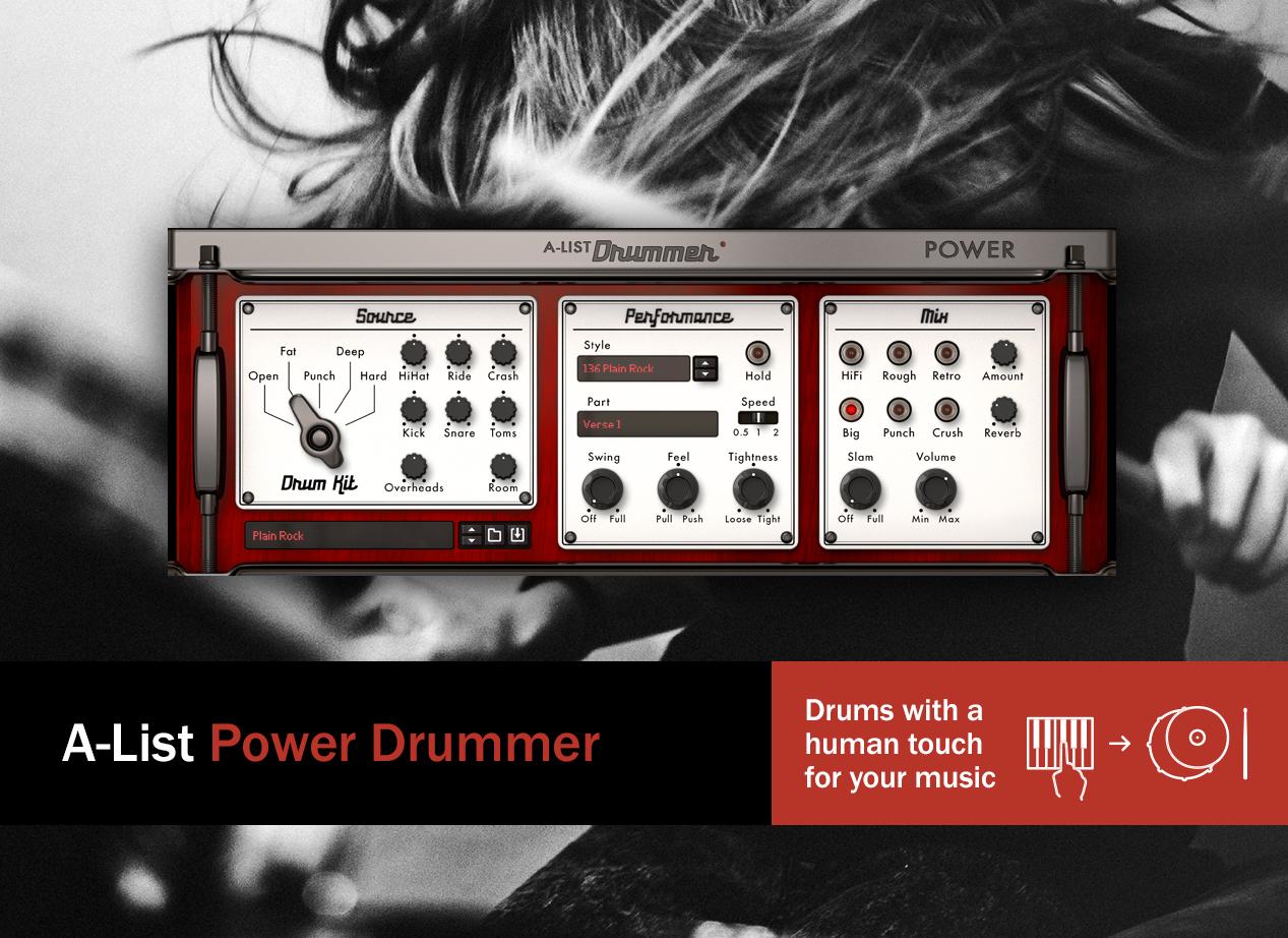 A-list Power drummer - main image