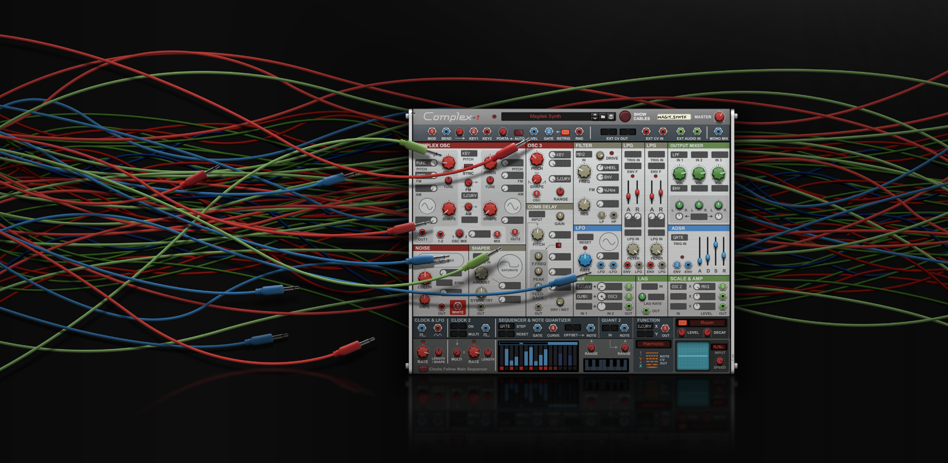 Propellerhead Releases Complex-1 Modular Synth Rack Extension for Reason