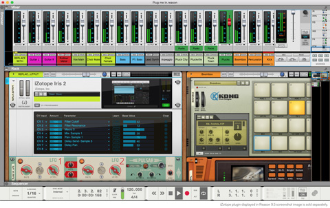 Propellerhead Announces Free Reason 9.5 Update with VST Support