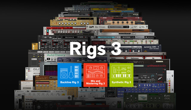 Propellerhead Releases Rigs 3 for Reason