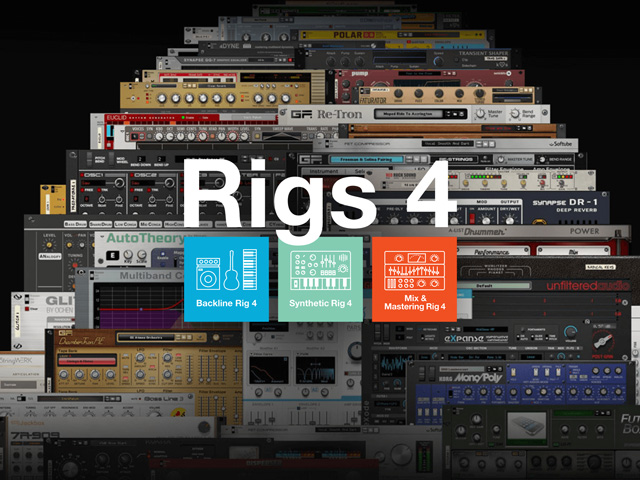 Propellerhead Releases Rigs 4 for Reason