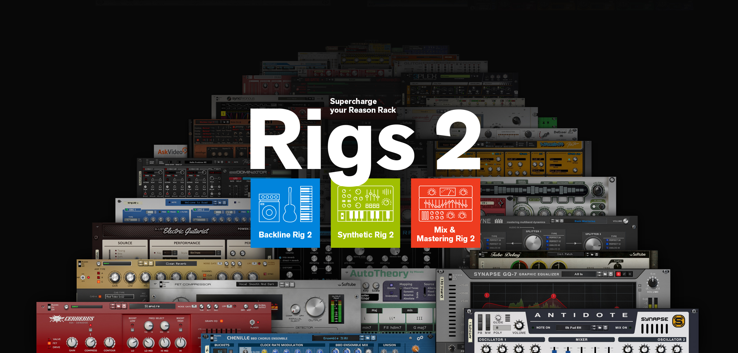 Propellerhead Announces Rigs 2 Series for Reason