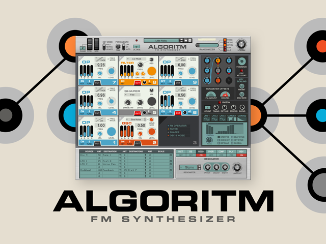"Reason Studios releases Algoritm FM Synthesizer: ""Create the new iconic sounds of the 20s"""