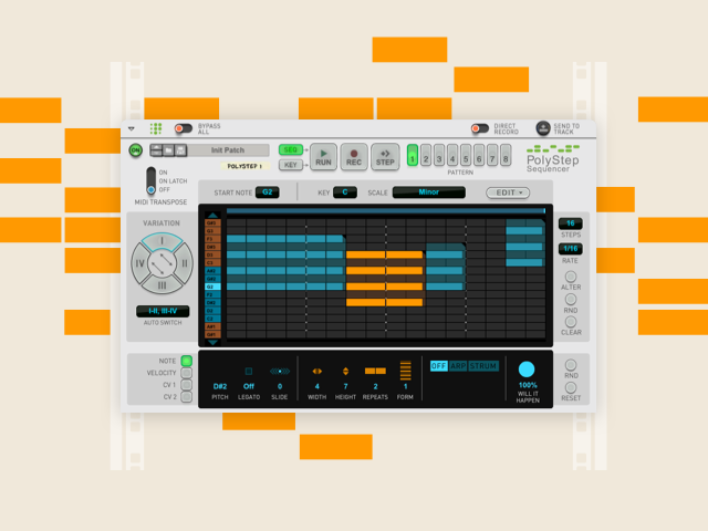 PolyStep Sequencer press image - no text