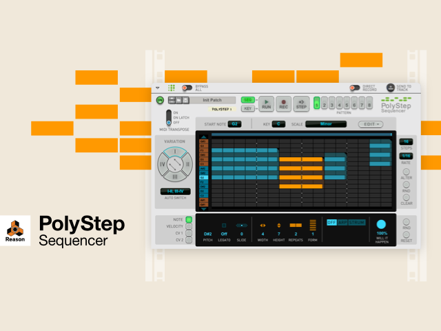 Propellerhead Launches PolyStep Sequencer plugin for Reason